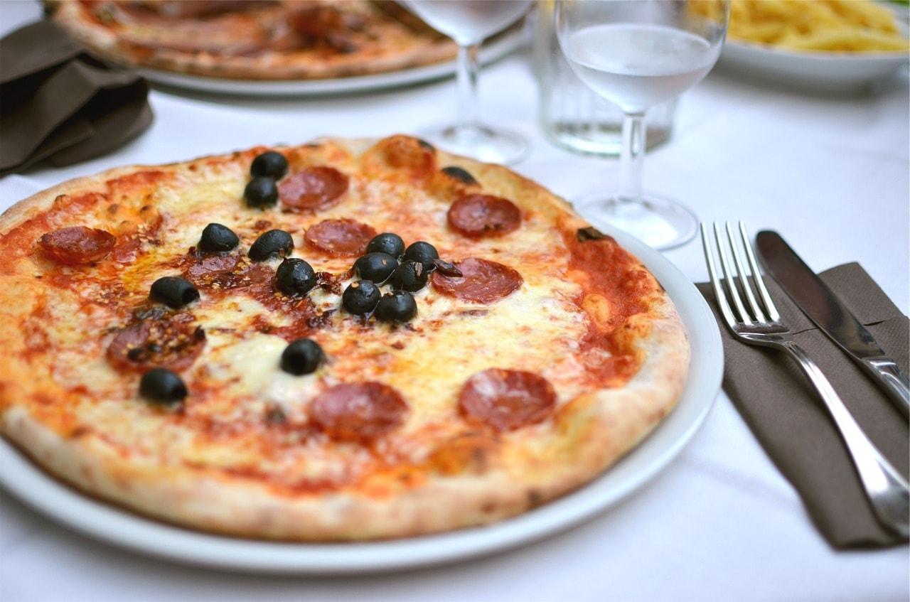 pizza x2 con antipasto
