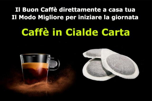 100 Cialde Caffè in carta