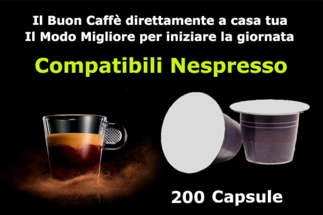 200 Capsule Nespresso