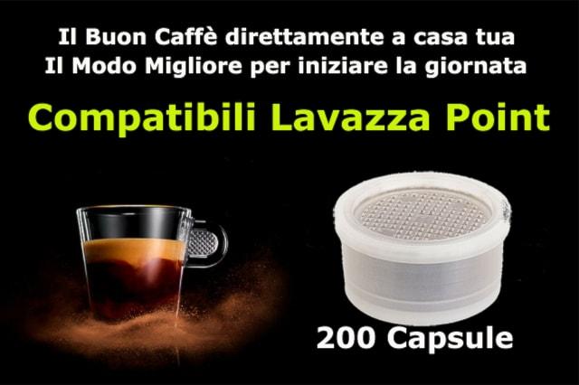 200 Capsule Lavazza point