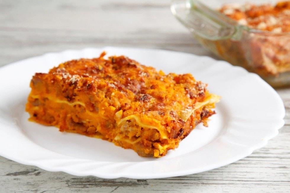 Lasagne classiche o zucca
