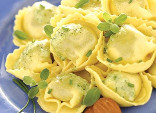 Tortelloni spinaci a mano