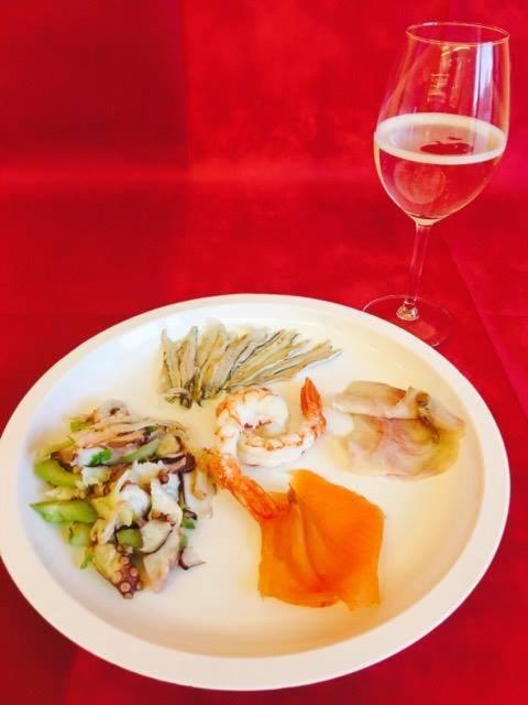 aperitivo pesce&bolle x2