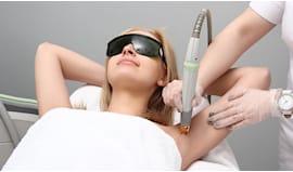 Laser ascelle o inguine