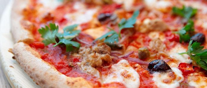 Menù Pranzo Pizza