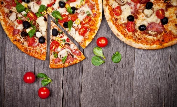 Menù pizza x2 graziano