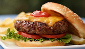 Hamburger+bibita asporto