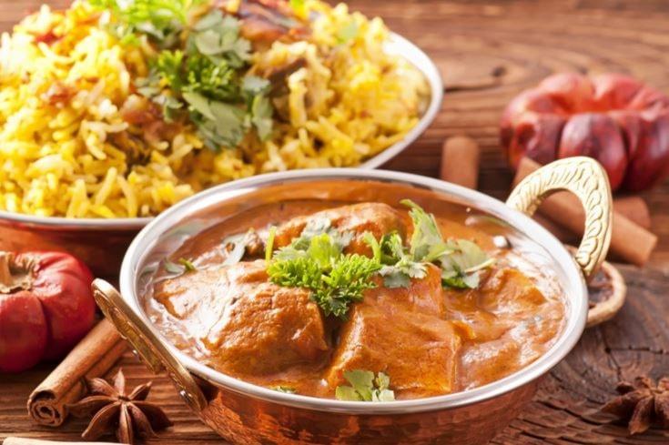 Menu indiano curcuma