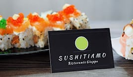 Take-away sushitiamo x2