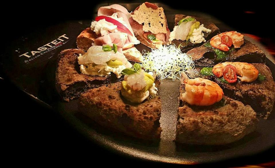 Degustazione pizza gourmet