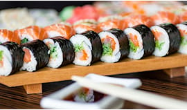 All you can eat sushi x2!