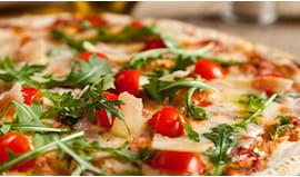 Giro pizza x6 rosa blu