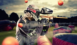 Paintball: partita per 6!