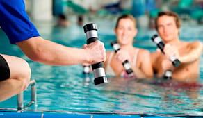 Prova 1 corso in piscina!
