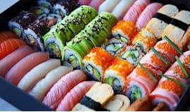 Sushi box da 70 pezzi