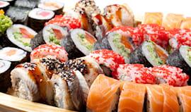50 pezzi sushi da asporto