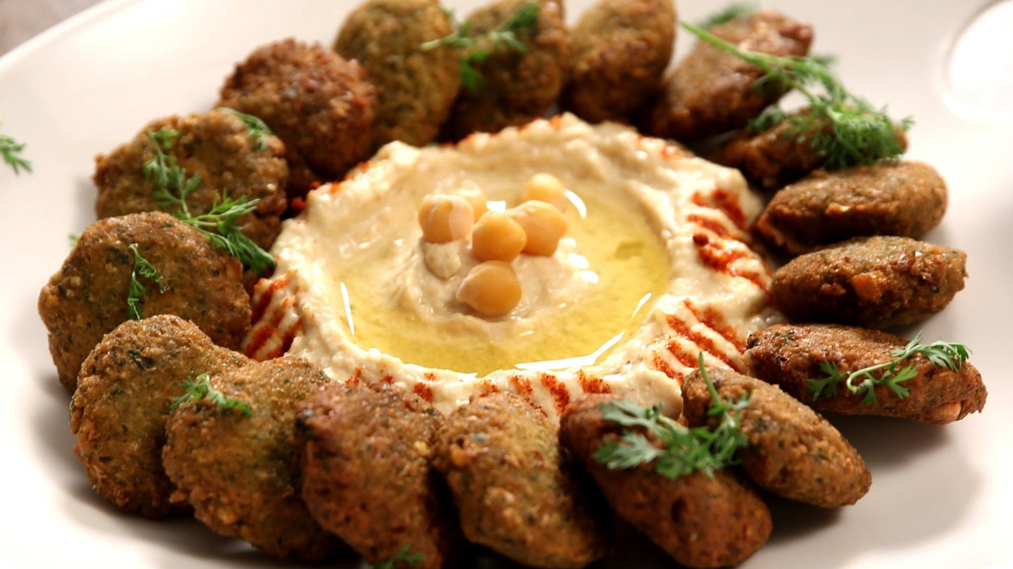 Menù tipico libanese x2