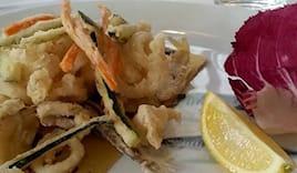 Omaggio menù di pesce x2