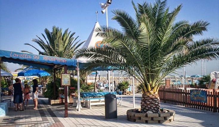 Offerta di lettino spiaggia a 3 50 a rimini spiiky - Bagno 99 riccione ...