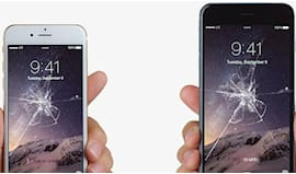 Vetro rotto iphone 6 ?