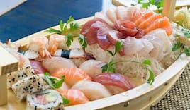 Asporto sushi alba 57 pz