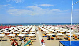 Offerta spiaggia marina