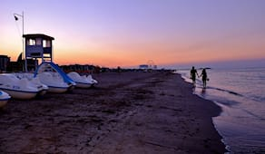 Lettino luxury beach