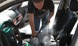 Lavaggio interno auto!
