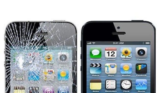 Sostituzione vetro iphone
