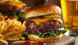 Menu hamburger x 2 19,90