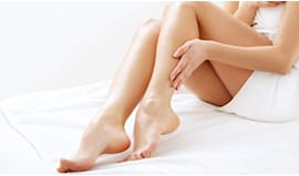 Gambe e inguine narcisia