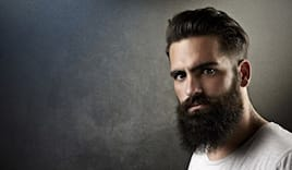 Taglio barba uomo