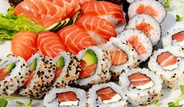 Sushi box asporto 60 pz