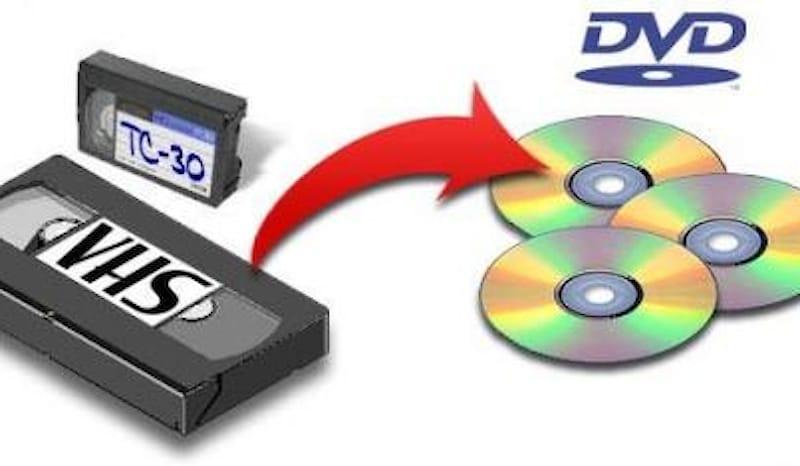 RIVERSA I TUOI VHS SU DVD