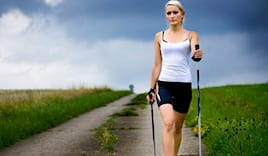 Nordic walking + bastoni