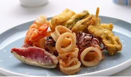 Menù gourmet pesce e vino
