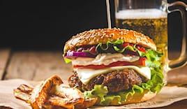 Menù hamburger omaggio