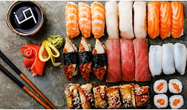 Sushi all you can eat x 2
