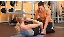 Personal training schiena