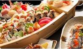 Menù wasabi sushi bar x2