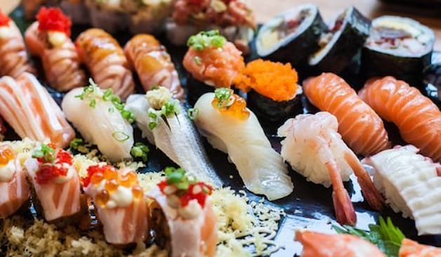 Sushi all you can eat x 4
