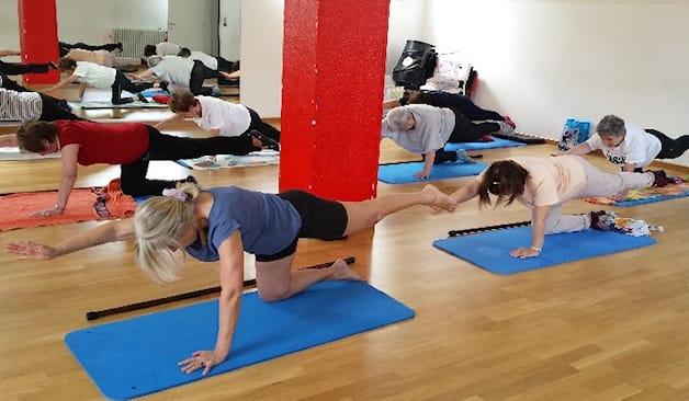 4 lezioni pilates