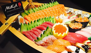 All you can eat sushi x2