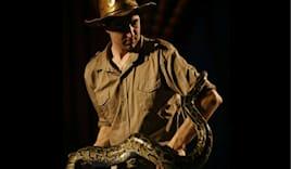 Spettacolo con serpenti