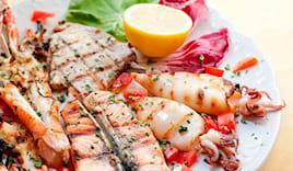Grigliata pesce fresco x2