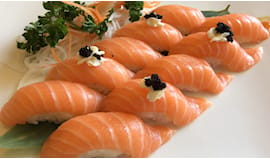 Sushi salmone e riso x2