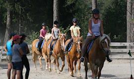 5 lezioni di equitazione