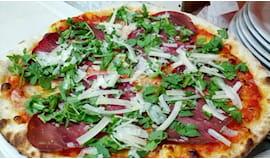 Pizza, bibita e consegna