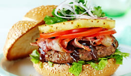 Menu hamburger omaggio