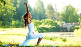 5/10 lezioni yoga parco